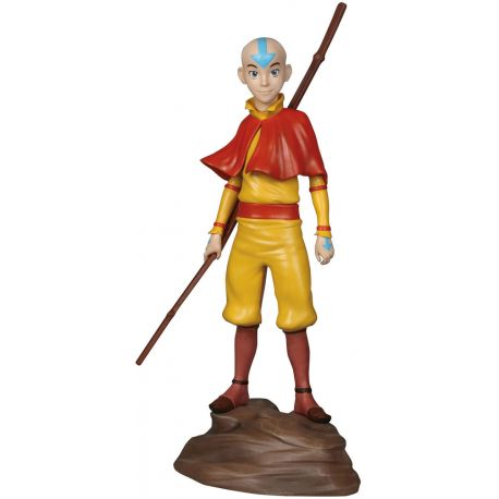 Avatar Le Dernier Ma 238 Tre De L 180 Air Statuette Aang Dark