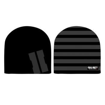 Bonnet Call of Duty Black Ops II réversible Grey Logo