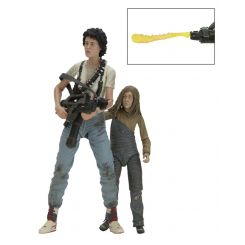 Aliens pack 2 figurines Deluxe 30th Anniversary Ripley & Newt Neca