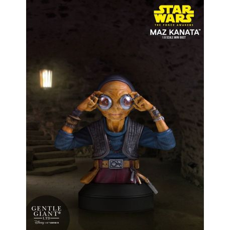 Star Wars Episode VII buste 1/6 Maz Kanata Gentle Giant