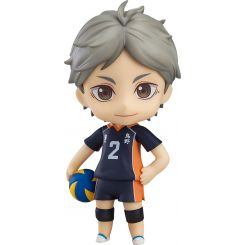 Haikyu!! Third Season figurine Nendoroid Koushi Sugawara Orange Rouge