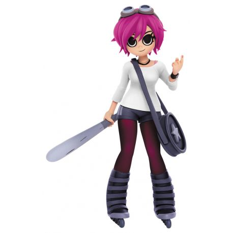 Scott Pilgrim figurine Ramona Flowers Previews Exclusive Mondo