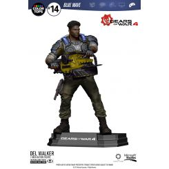 Gears of War 4 figurine Color Tops Delmont 'Del' Walker McFarlane Toys