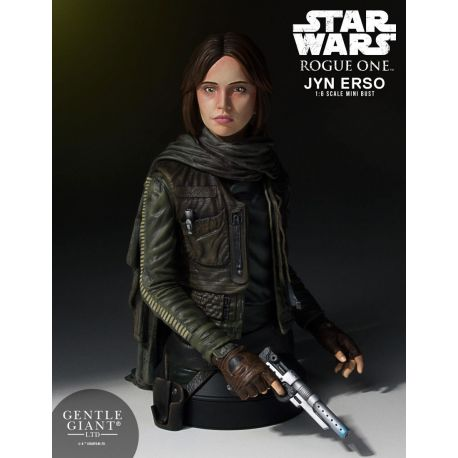 Star Wars Rogue One buste 1/6 Jyn Erso (Seal Commander) Gentle Giant
