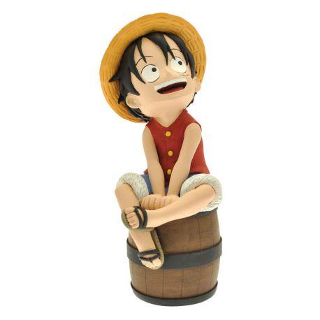 One Piece tirelire Luffy Plastoy