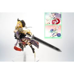 Hyakka Ryoran Samurai Girls statuette 1/8 Charles de D'Artagnan Limited Edition Alter