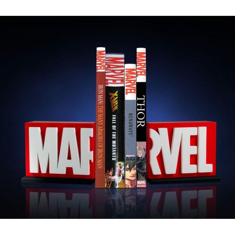 Marvel Comics Serre Livres Logo Gentle Giant France