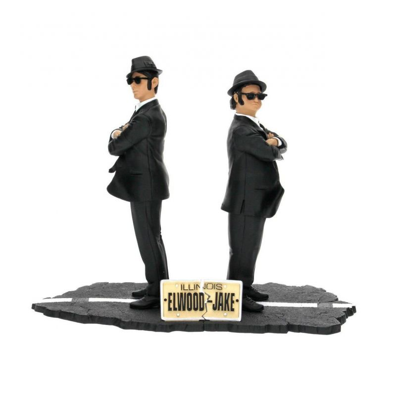 Toys For Brothers : Blues brothers pack statuettes pvc movie icons jake
