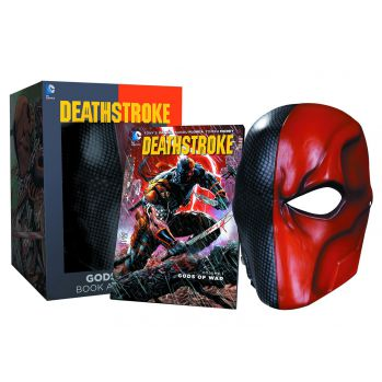 DC Comics réplique masque du Deathstroke and comic