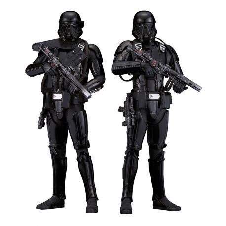 Star Wars Rogue One pack 2 statuettes ARTFX+ Death Trooper Kotobukiya