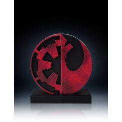 Star Wars serre-livres Imperial/Rebel Logo Gentle Giant
