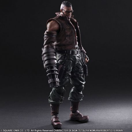 Final Fantasy VII Remake Play Arts Kai figurine No. 2 Barret Wallace Square-Enix