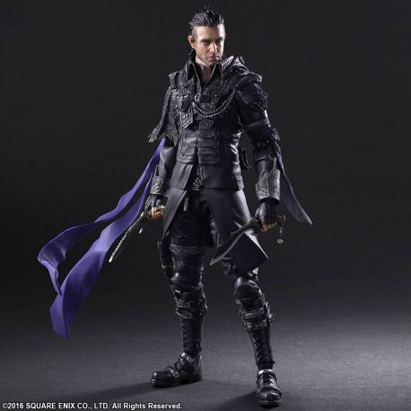 Kingsglaive Final Fantasy XV Play Arts Kai figurine Nyx Ulric Square-Enix