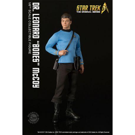 Star Trek TOS figurine 1/6 Dr. Leonard 'Bones' McCoy Quantum Mechanix