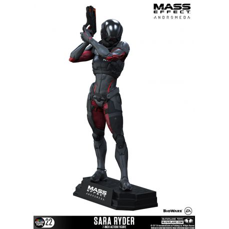 Mass Effect Andromeda figurine Color Tops Sara Ryder McFarlane Toys