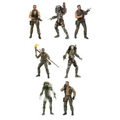 Predator assortiment figurines 30th Anniversary Neca