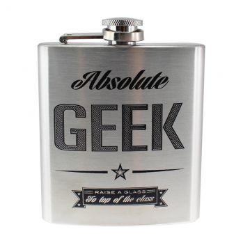 Geek Chic Hip flasque Absolute Geek