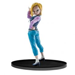 Dragonball Super figurine SCultures Big Budoukai Android 18 Banpresto