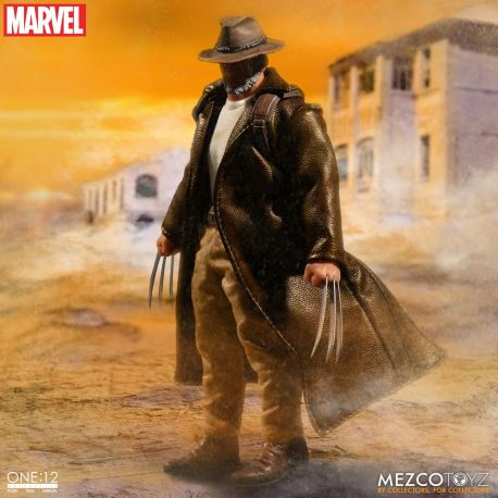 Marvel Universe figurine 1/12 Old Man Logan Mezco Toys