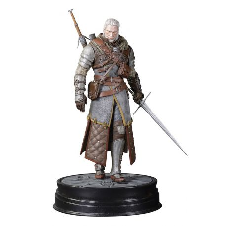 Witcher 3 Wild Hunt statuette Geralt Grandmaster Ursine Dark Horse