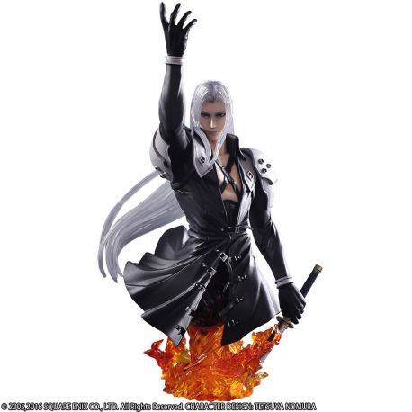 Final Fantasy VII Static Arts buste Sephiroth Square-Enix