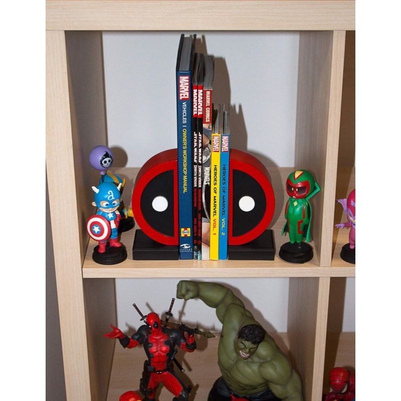 Marvel Comics serre-livres Deadpool Logo Gentle Giant - France Figurines