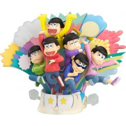 Osomatsu-san Diorama Matsuno Brothers Orange Rouge