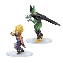Dragonball Z figurines Dramatic Showcase Son Gohan & Cell Banpresto