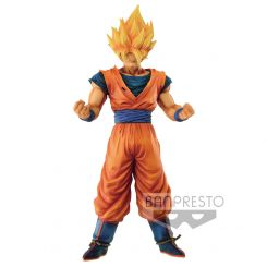 Dragonball Z figurine Grandista Resolution of Soldiers Son Goku Banpresto