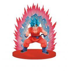 Dragonball Z figurine SSGSS Goku Blue Kaioken Scene Banpresto