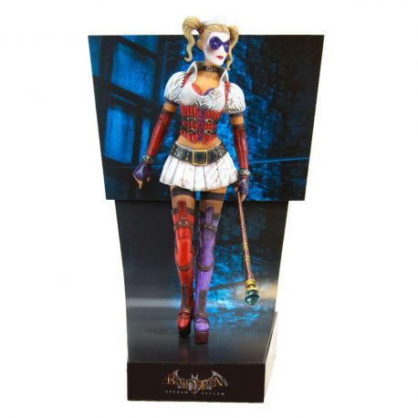 Batman Arkham Asylum statuette Premium Motion Harley Quinn Factory Entertainment