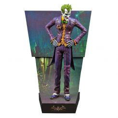 Batman Arkham Asylum statuette Premium Motion The Joker Factory Entertainment