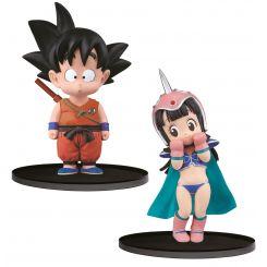 Dragonball assortiment figurines Original Figure Collection Goku & Chichi Banpresto