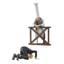 One Piece assortiment figurines Dramatic Showcase Sanji & Zeff Banpresto