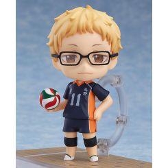 Haikyu!! Second Season figurine Nendoroid Kei Tsukishima Orange Rouge