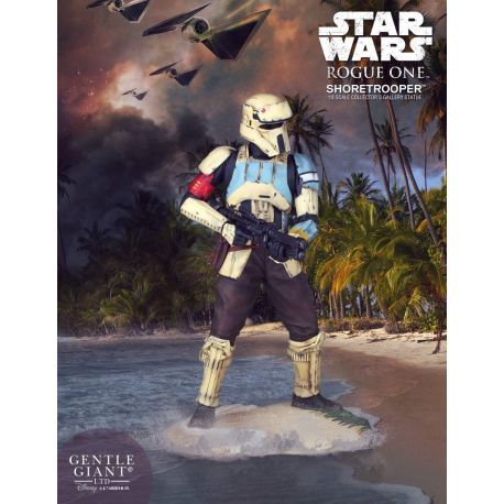 Star Wars Rogue One statuette Collectors Gallery 1/8 Shoretrooper Gentle Giant