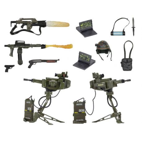 Alien USCM Arsenal Weapons Accessory Pack Neca