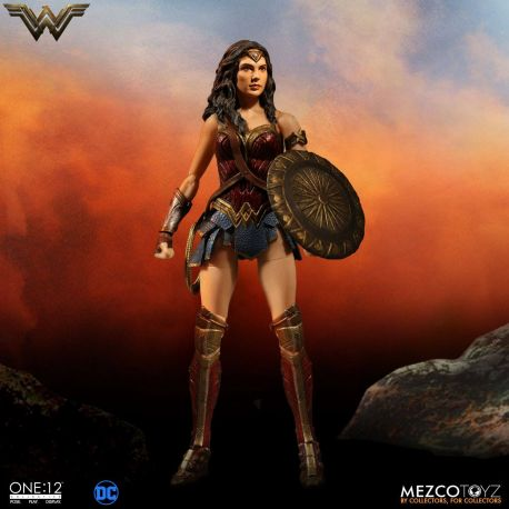DC Comics figurine 1/12 Wonder Woman Mezco Toys