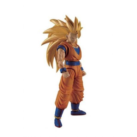 Dragonball Z figurine Plastic Model Kit Figure-rise Standard Super Saiyan 3 Son Goku Bandai