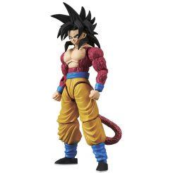 Dragonball Z figurine Plastic Model Kit Figure-rise Standard Super Saiyan 4 Son Goku Bandai