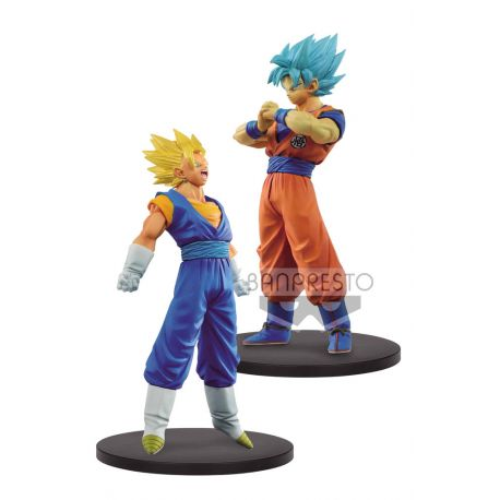 Dragonball Super Warriors assortiment figurines DXF SSJ Vegetto & SSJ Blue Goku Banpresto