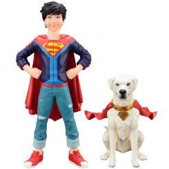 DC Comics pack 2 statuettes 1/10 ARTFX+ Super Sons Jonathan Kent & Krypto Kotobukiya