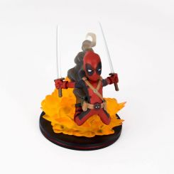 Marvel Comics figurine Q Deadpool LC Exclusive Quantum Mechanix
