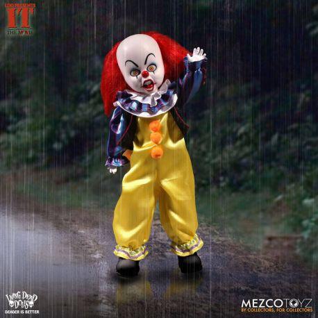 Ça (It) Living Dead Dolls poupée Pennywise Mezco Toys