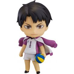 Haikyu!! figurine Nendoroid Wakatoshi Ushijima Orange Rouge