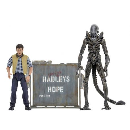 Aliens pack 2 figurines Hadley's Hope Neca