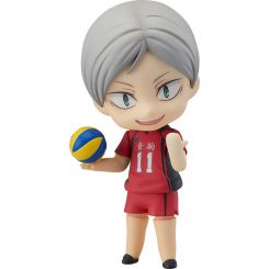 Haikyu!! figurine Nendoroid Lev Haiba Orange Rouge