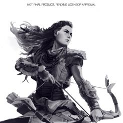 Horizon Zero Dawn statuette Aloy Gaya Entertainment