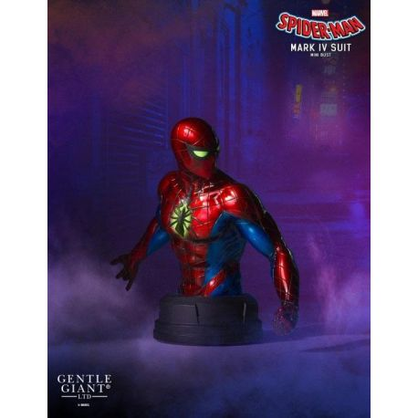 Marvel buste 1/6 Spider-Man Mark IV Suit Gentle Giant