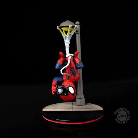 Marvel Comics figurine Q-Fig Spider-Man Spider Cam Quantum Mechanix